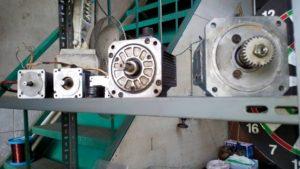ABB servo motorun servisi