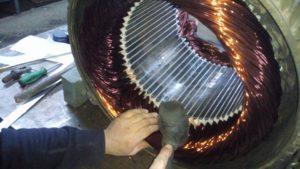 Afyonkarahisar fırçalı dc motor Sarımı